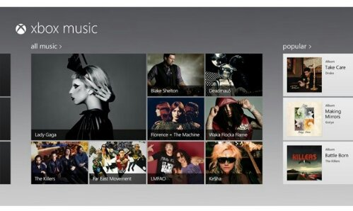 Microsoft begint met Spotify-concurrent Xbox Music