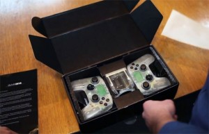 "Android-XBMC gameconsole ""Ouya"" in video getoond"