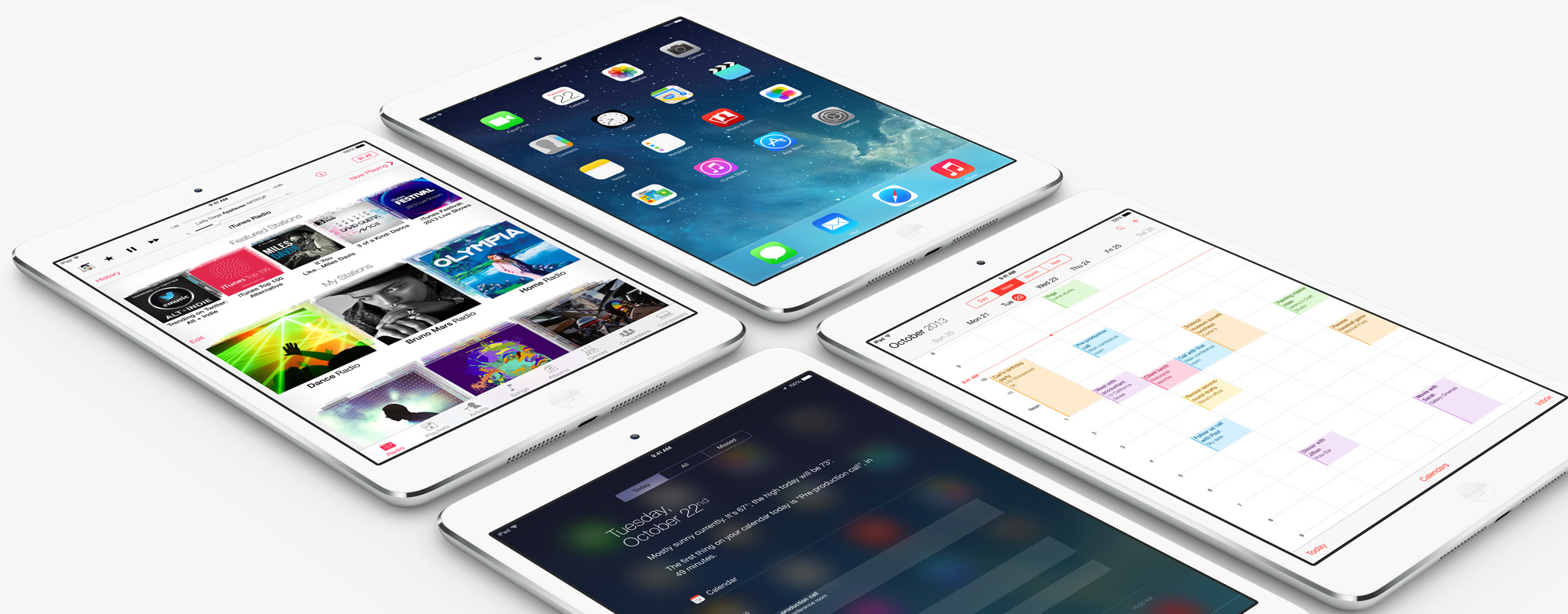 Apple iPad Air en iPad mini met Retina display (en prijzen)