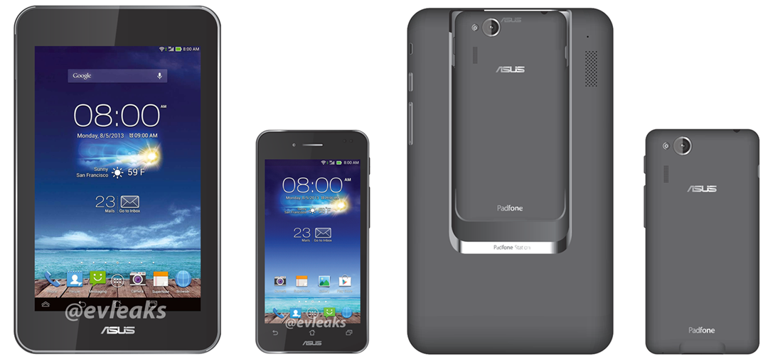 Asus presenteert tablet- en telefooncombi Padfone mini