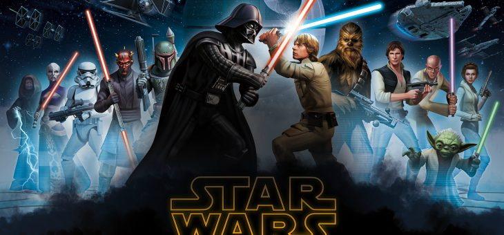 Complete Star Wars collectie op Netflix